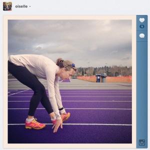 purple track