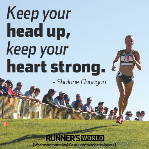 Best Quotes About Strong Heart: Shalane Flanagan